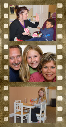 Elkridge Family Dentistry  film strip of family dentistry