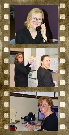 Filmstrip of the Elkridge Family Dentistry team