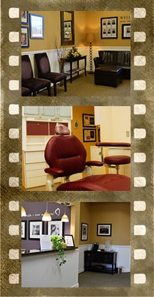 Filmstrip of the office of Elkridge Family Dentistry
