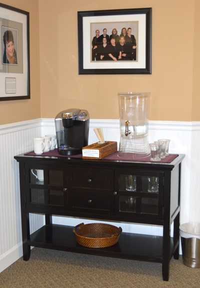 Beverage center of Elkridge Family Dentistry